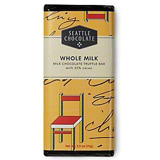 Seattle Chocolates Milk Chocolate Truffle Bar, 2.50 oz