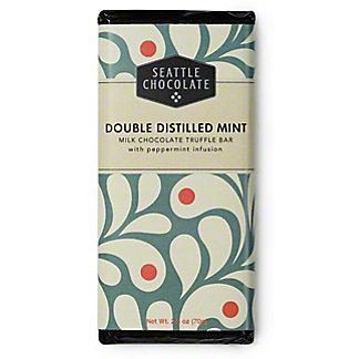 Seattle Chocolates Meltaway Mint Milk Chocolate Truffle Bar, 2.50 oz