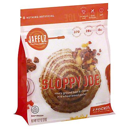 Jafflz Gourmet Toasted Pockets Barbeque Sloppy Joe Jaffle, 6 ct