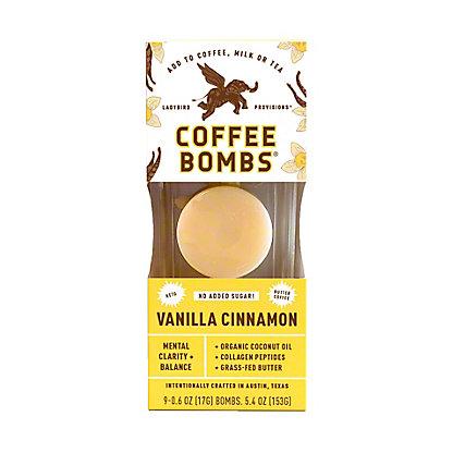 Ladybird Provisions Butter Coffee Bombs Vanilla Thunder, 6 ct