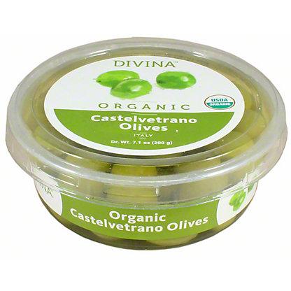 Divina Organic Castelvetrano Olive, 7.1 oz