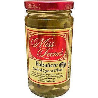 Miss Leones Olives Habanero Stuffed, ea