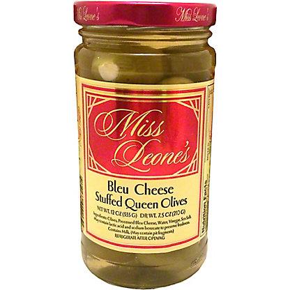 Miss Leones Olives Bleu Cheese Stuffed, ea