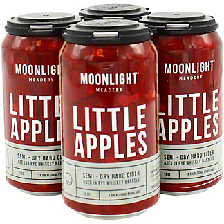 Moonlight Meadery Them Little Apples Cider, 4 pk