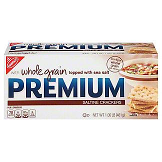 Nabisco Premium Whole Grain Saltines, 17 oz