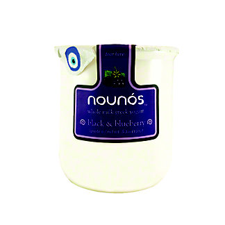 Nounos Greek Yogurt Whole Milk Black & Blueberry, 5.3 oz