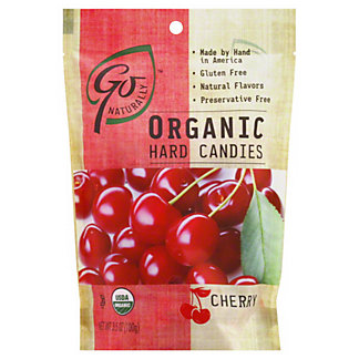 Go Naturally Organic Cherryhard Candies, 3.50 oz
