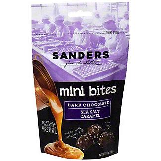 Sanders Mini Bites Dark Chocolate Sea Salt Caramels, ea