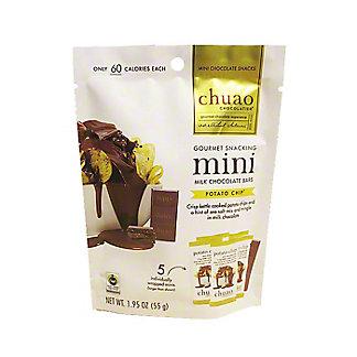 Chuao Milk Chocolate Potato Chip Mini Bars, 1.95 oz
