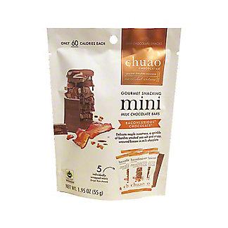 Chuao Milk Chocolate Baconluxious Mini Bars, ea