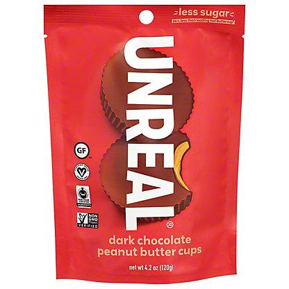 Unreal Dark Chocolate Peanut Butter Cups, ea