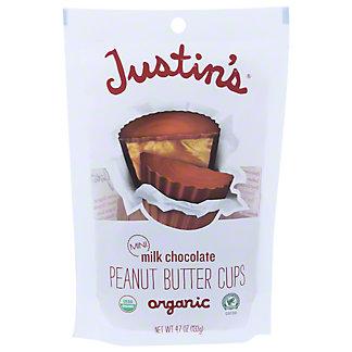 Justin's Milk Chocolate Mini Peanut Butter Cups, 4.7 oz