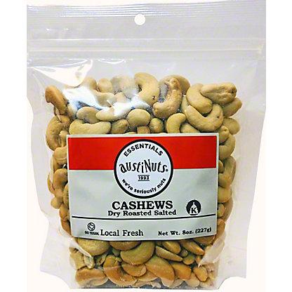 Austinuts Essentials Dry Roasted Salted Cashews, ea