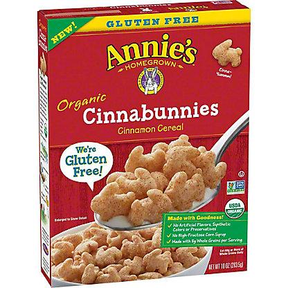 Annie's Homegrown Organic Cinnabunnies Cinnamon Cereal, 10 oz