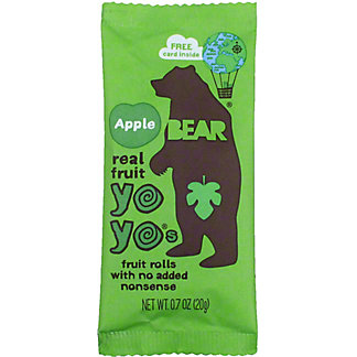 Bear Yoyo Fruit Roll Apple, .7 oz