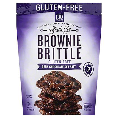 Brownie Brittle Brownie Brittle Gluten Free Dark Chocolate Sea Salt, 5 oz