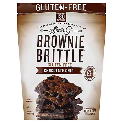 BROWNIE BRITTLE GF CHOC CHIP