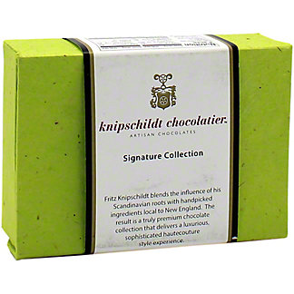 Knipschildt Chocolatier Artisan Chocolates Small Signature Collection  , 6 ea
