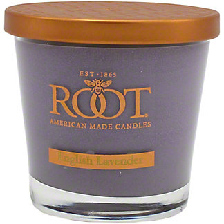 Root Small Veriglass English Lavender Candle, 6.3 OZ