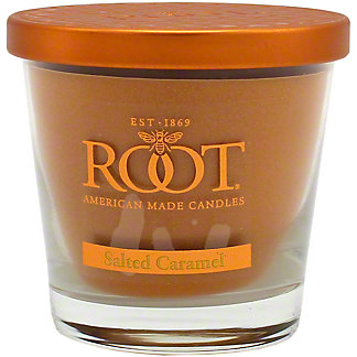 Root Small Veriglass Salted Caramel Candle, 6.3 oz
