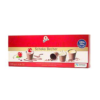 Halloren Fairtrade Chocolate Cups, 4.4 oz