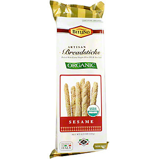 Bellino Organic Breadstick Sesame, 4.23 oz