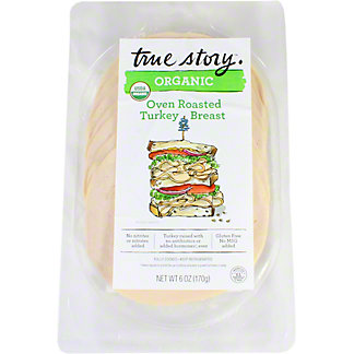True Story Organic Roasted Turkey, 6 oz