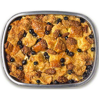 Chef Prepared Challah French Toast Casserole W Blueberries And Pecans, 38 oz