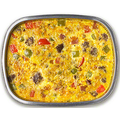Egg Casserole W Sausage Ham And Peppers, 36 OZ