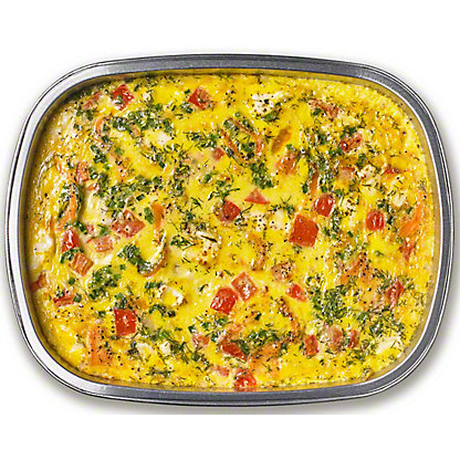 Egg Casserole With Smoke Salmon And Potato, 32 oz