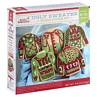 Crafty Cooking Kits Ugly Sweater Cookie Kit, 11.5 oz