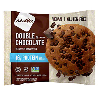 NuGo Double Chocolate Protein Cookie, 3.53 oz