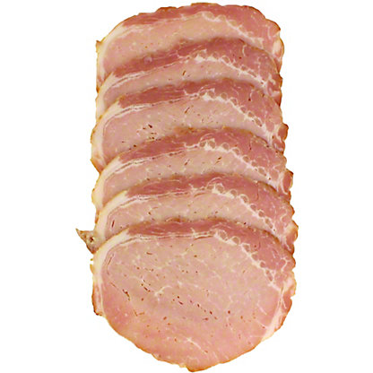Niman Ranch Canadian Bacon, Sold by the pound