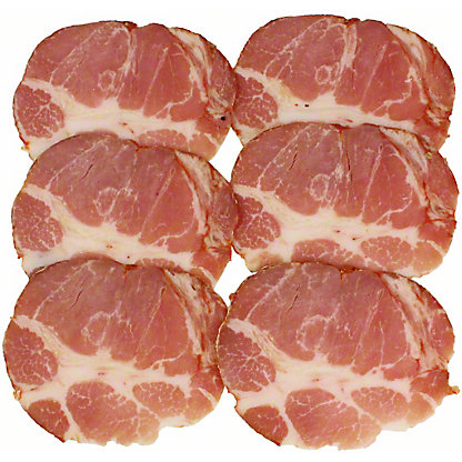 Daniele Cooked Hot Capocollo, Sold by the pound