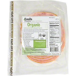 Emils Organic Smoked Ham, 6 oz