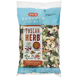 H-E-B Select Ingredients Tuscan Herb Chopped Salad Kit, 12.6 oz