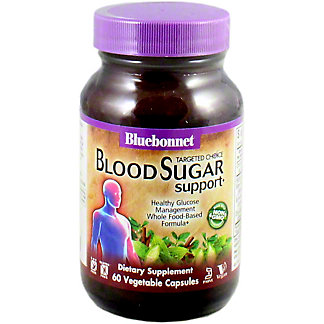 Bluebonnet Targeted Choice Blood Sugar Support, 60 CT