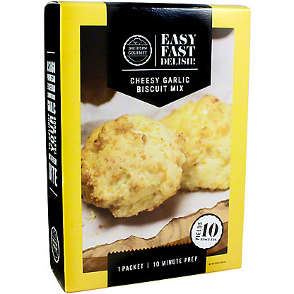 Just In Time Gourmet Just In Time Biscuit Mix Cheesy Garlic, 8.61 OZ