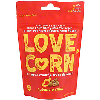 Love Corn Habanero Chili, 1.62 OZ