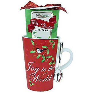 Too Good Joy To The World Cocoa Mug With Spoon, ea