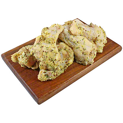 Fresh Parmesan & Garlic Chicken Wing Drummette, LB
