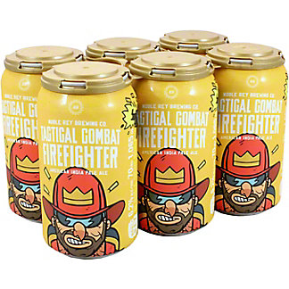 Noble Rey Brewing Co Tactical Combat Firefighter, 6 pk