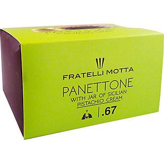 Fratelli Motta Panettone With Pistachio Cream, 1.1LB