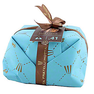 Fratelli Motta Hand Wrapped Panettone With Chocolate Chips, 1.1 lb