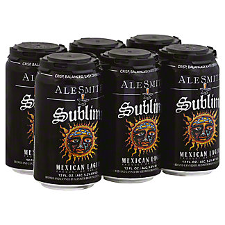 AleSmith Sublime Mexican Lager 12 oz, 6 pk