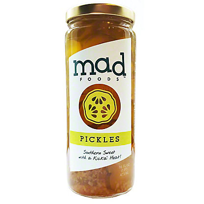 Mad Pickles Sweet & Spicy Dill Pickle, 16 oz