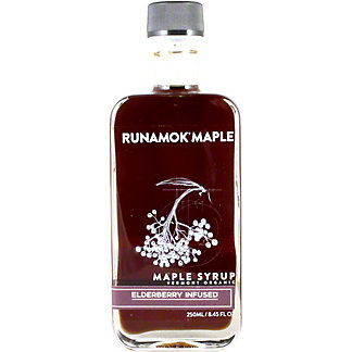 Runamok Maple Syrup Elderberry Infused, 8.45 oz