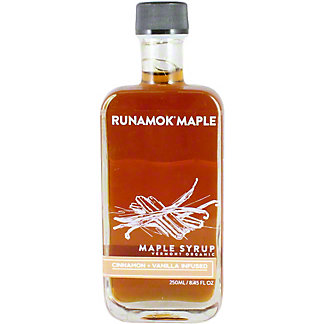 Runamok Maple Syrup Cinnamon And Vanilla Infused, 8.45 OZ