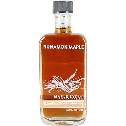 Runamok Maple Syrup Cinnamon And Vanilla Infused, 8.45 OZ