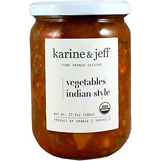 Karine & Jeff Vegetables Indian Style, 17.6 OZ